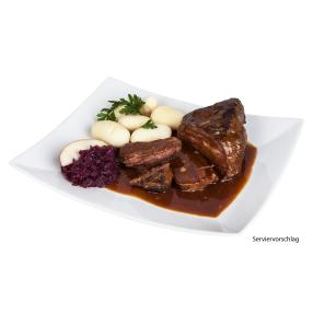 Rinderbraten in Barolosoße