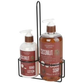 accentra bath & body Coconut Set