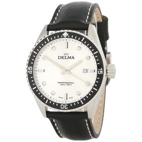 "DELMA Herrenuhr ""Cayman"" Quarz Lederband"