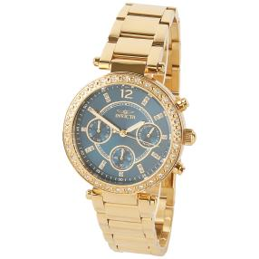 "INVICTA Damen Chronograph ""Angel"" IP-vergoldet"