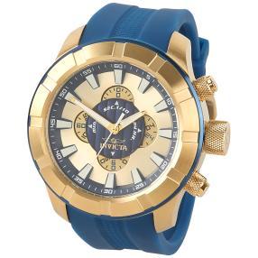 "INVICTA Herren-Chronograph ""S1 Rally"" Gold-blau"