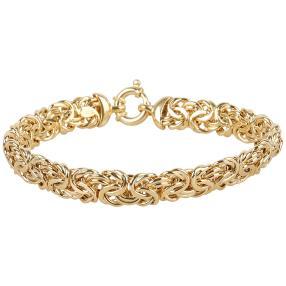 Königsarmband 585 Gelbgold