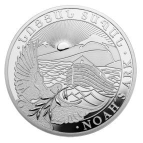 Kilo-Silbermünze Arche Noah