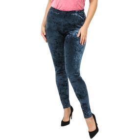 VV Samt-Leggings 'Ariana' blau