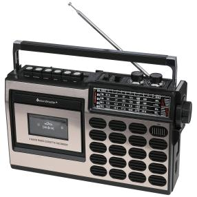 Retro Radio/Kassettenrekorder mit USB/SD encoding