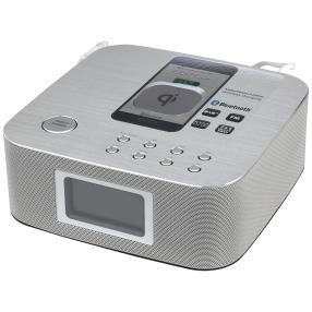 Soundstarker DAB+/UKW Uhrenradio Bluetooth® QI