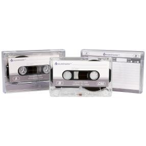 2x Soundmaster Leerkassette