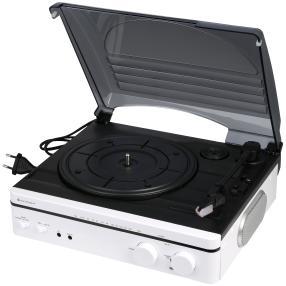 Retro Plattenspieler mit UKW Radio