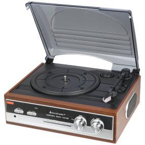 Nostalgie – Plattenspieler mit Radio