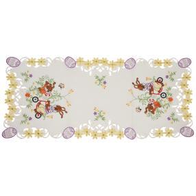 Tischläufer Ostern 40 x 90 cm, bunt