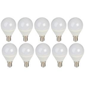 10er Set LED-Leuchtmittel E14