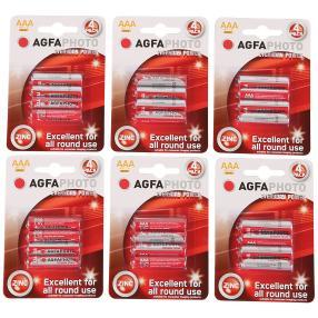 24x AGFA Premium Batterien AAA