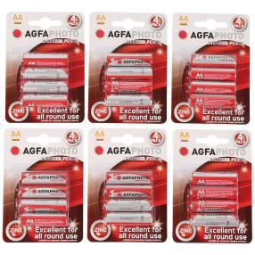 24x AGFA Premium Batterien AA