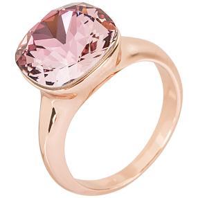 Ring mit Swarovski® Kristallen pink