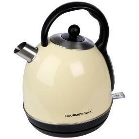 GOURMETmaxx Wasserkocher Retro 2200 W