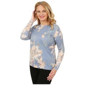 Damen-Pullover mit Lurex multicolor