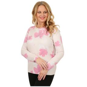 Damen-Pullover mit Lurex multicolor