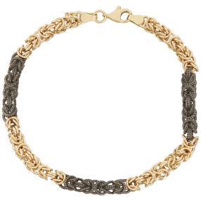 Armband Königskettendesign 585 Gold ca. 20cm