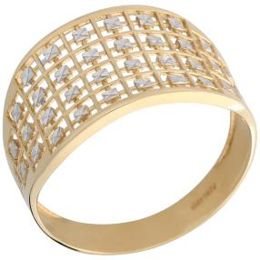 Ring 585 Gold bicolor