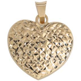 Anhänger Herz 585 Gold
