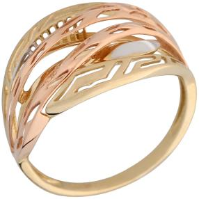 Ring 585 Gold tricolor