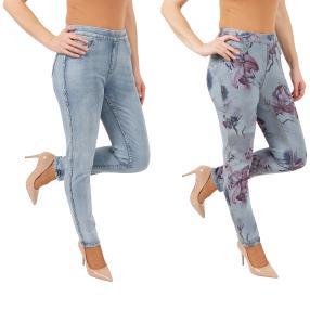 2in1 Wende-Jeans 'Spring' lightblue/multicolor