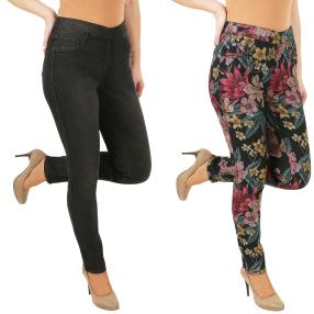 2in1 Wende-Jeans 'Floridity' black/multicolor