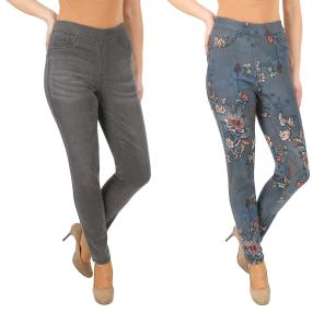 2in1 Wende-Jeans 'Beauty' midgrey/multicolor