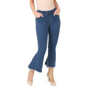 ÉTOILE DE MER  Jeans, verziert, blau, uni