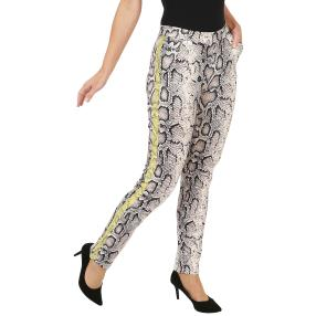 Zauberhose 'Perfect Milva' Snakeprint multicolor