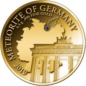Golden Meteorite Deutschland