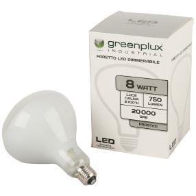 2er Set E27 LED Strahler, dimmbar