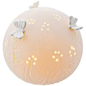 LED-Keramikkugel 'Primavera'