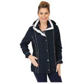 kirsten Damen-Jacke 'Cavoli' mit Kapuze marine