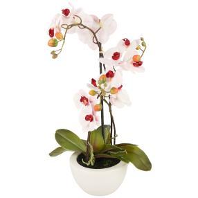 Orchidee 3D-Print rosa, 52 cm