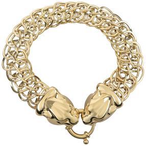 Armband 585 Gelbgold Panther