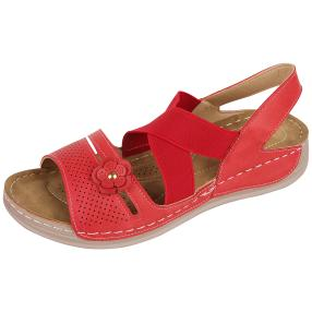 Fashion Damen Leder Sandalen