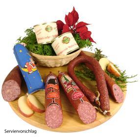 Rhönis Schlemmerkorb Weihnachtspaket