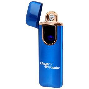 Clever Wounder USB Feuerzeug BLAU