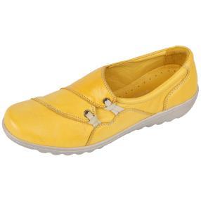 Dr. Feet Damen Nappa Slipper
