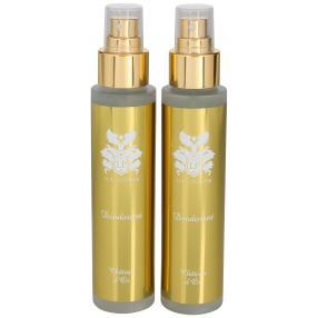 LE PARFUMEUR Deodorant Chatea d' Or 2x100ml