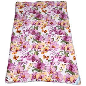 Stoffhanse Steppdecke 135 x 200 cm, floral