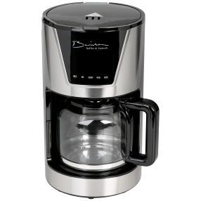 Barista Kaffeemaschine 900 W Edelstahl schwarz