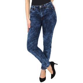 Jet-Line Damen-Jeans 'Trendy Vintage', dark blue