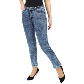 Jet-Line Damen-Jeans 'Fancy Fade Out' blue washed