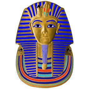 1 kg Tutanchamun Cut-Out-Münze
