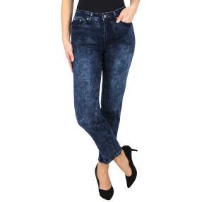 Jet-Line Damen-Jeans 'Casual Style', dark blue