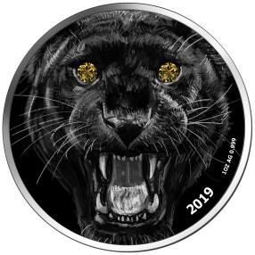 Schwarzer Panther 2x Gelber Diamant VS
