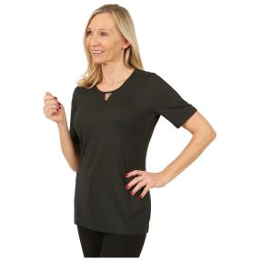 RÖSSLER SELECTION Damen-Shirt 'Sweetheart' schwarz