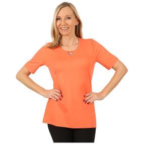 RÖSSLER SELECTION Damen-Shirt 'Sweetheart' koralle